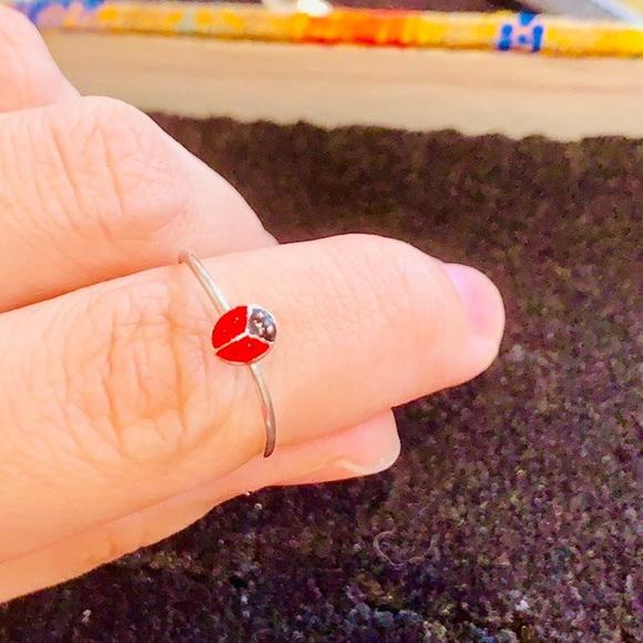 Jewelry - Dainty Ladybug 🐞 Ring